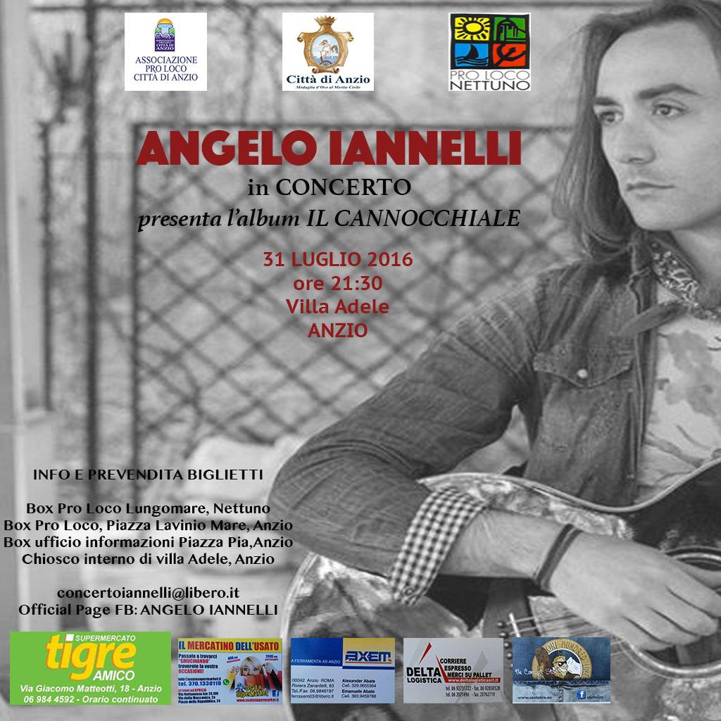 Angelo Iannelli in concerto ad Anzio