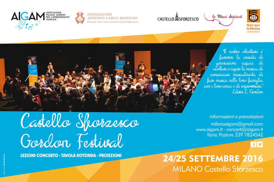 Castello Sforzesco Gordon Festival: a Milano si insegna musica
