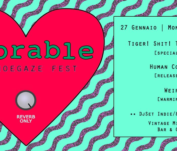 Adorable: prima edizione per il festival shoegaze a Roma