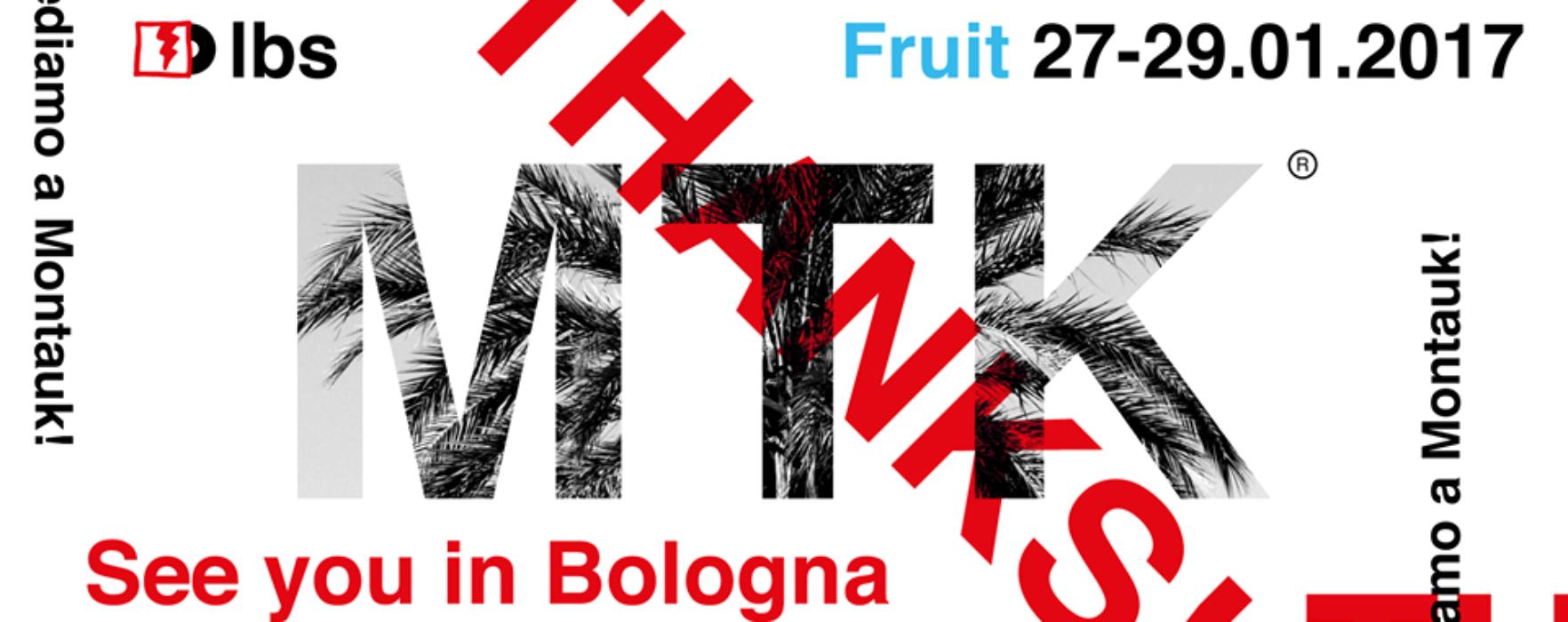 Montauk: il nuovo disco alla Fruit Exhibition di Bologna