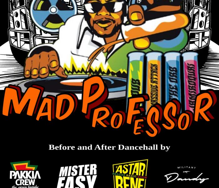 Mad Professor allo Spin Time Labs di Roma