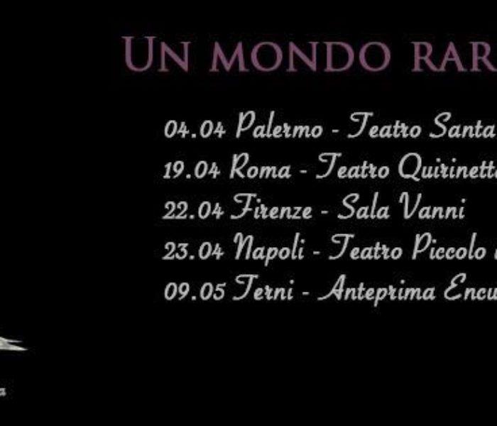 """Antonio Di Martino e Fabrizio Cammarata in tour con """"Un Mondo Raro"""""""