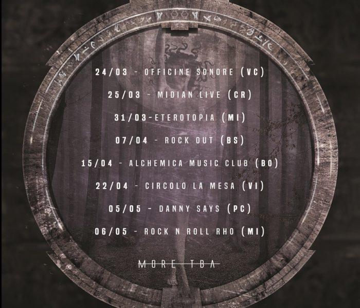 Raging Dead: album in uscita e date del tour