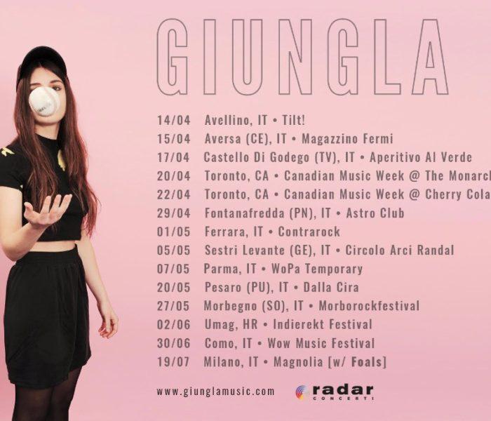Giungla in tour in Italia
