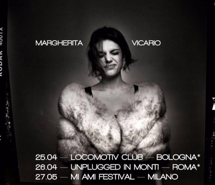 Margherita Vicario: tre date a Bologna, Roma e Milano