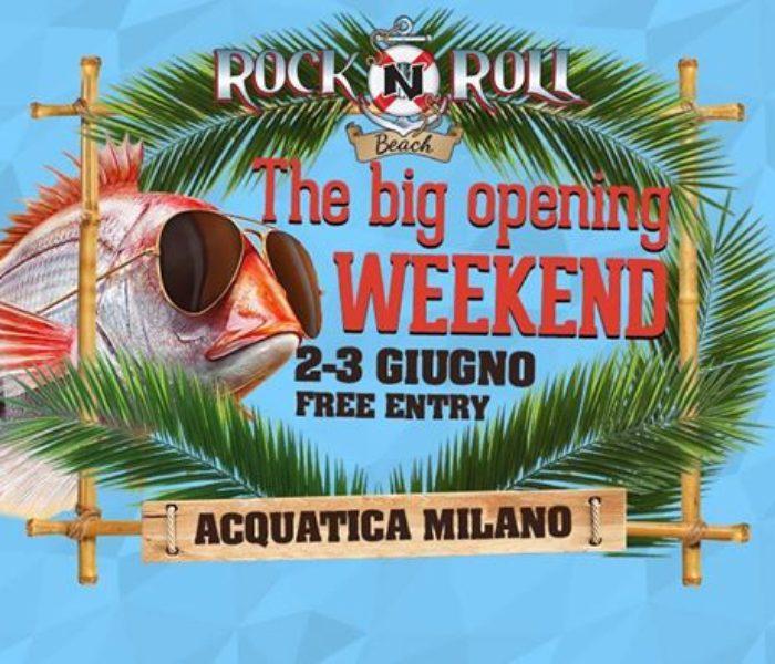 Rock'n'roll Beach 2017: l'estate party & music di Milano