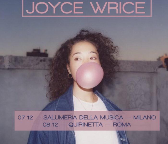 Joyce Wrice: due date in Italia