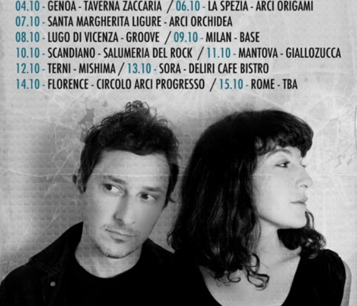 Lail Arad e JF Robitaille in tour in Italia