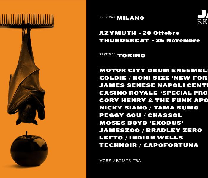 Jazz:Re:Found 2017: a Torino la decima edizione