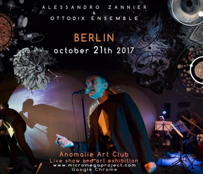 Ottodix in concerto a Berlino il 21 ottobre
