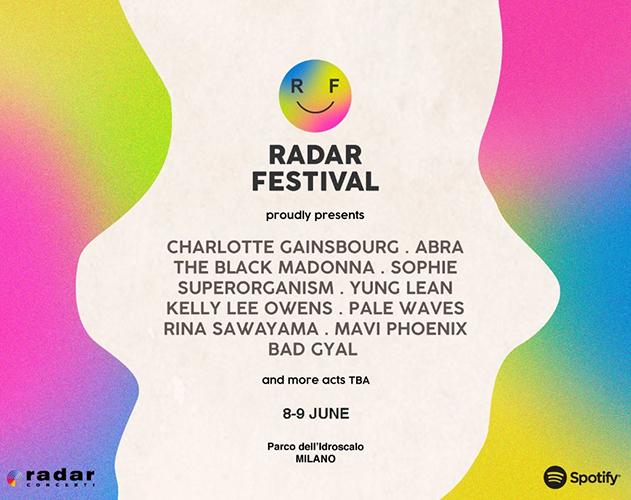 Radar Festival 2018: annunciati nuovi artisti