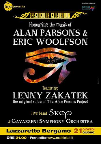 Lenny Zanatek: la musica di Alan Parsons a Bergamo