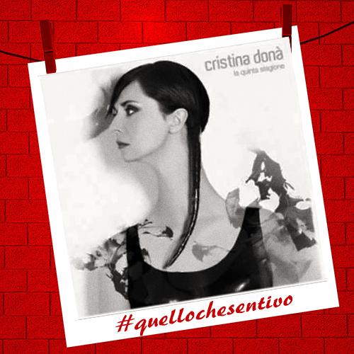 Cristina Donà, Universo, #quellochesentivo