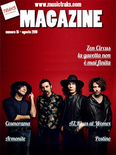 TRAKS MAGAZINE 016 Cover
