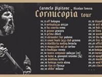 """Carmelo Pipitone: """"Cornucopia"""" è il primo disco da solista"""