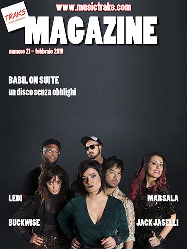 TRAKS MAGAZINE 021 COVER