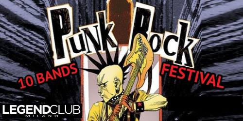 Milano Punk Street Food Fest 2019 venerdì al Legend Club