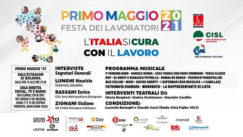 L'Italia si cura con il lavoro – Concerto del 1° Maggio a Bologna