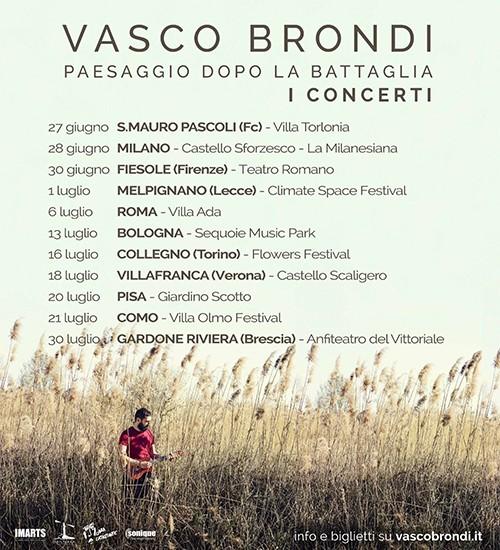 Vasco Brondi: annunciate le prime date del tour